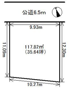 売地 昭和区東畑町 御器所駅歩3分